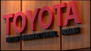 toyota highlander indiana factory line 5 millionth vehicle rolls off assembly line at indiana u0027s princeton