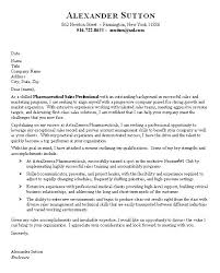 cover letter sample pharmaceutical sales cover letter sample