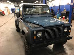 range rover defender pickup 1991 land rover defender pickup large capacity u2013 outback garage