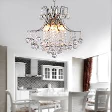 Modern Ceiling Light by Modern Crystal Chandelier With 6 Lights Pendant Modern Ceiling