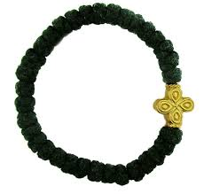 prayer bracelet images Wool prayer bracelet with cross at holy trinity store