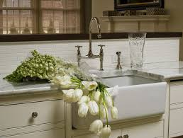 ivory kitchen faucet lovely kitchen with ivory kitchen cabinets marble countertops