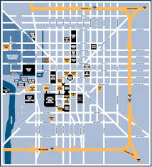 Downtown Chicago Map by Map Of Downtown Indianapolis