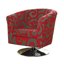 Accent Tables Cheap by Furniture Captivating Red Floral Cheap Accent Swivel Chair Ideas