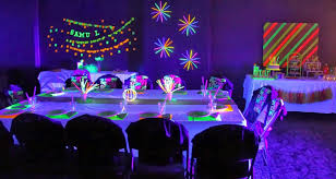 black light party ideas great and black light party decorations idea home decor