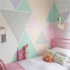 bedroom painting ideas diy faux wallpaper accent wall statement wall diy wallpaper gray