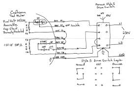 wiring diagram 230v cscr start circuit