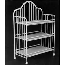 Iron Changing Table Scalloped Baby Cradle Iron Cradles Ababy