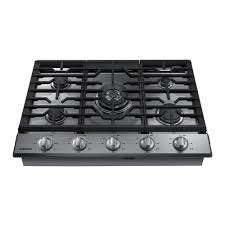 Aa Wifi Samsung 30 In Gas Cooktop In Stainless Steel With 5 Burners