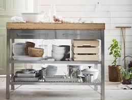 meuble cuisine acier meuble cuisine acier cuisine borde du0027acier nickel u2013 plateau