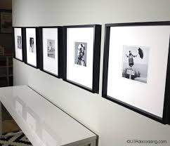 how to hang a picture frame how to hang pictures in a row utr déco blog