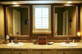 Bathroom Mirrors Brushed Nickel Brushed Nickel Bathroom Mirror What Customers Should