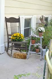 Front Porch Fall Decorating Ideas - porch fall decorating ideas simple easy front porch rocking chairs
