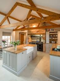 shaped kitchen island made of cedar tree designs pinterest barn wood island houzz