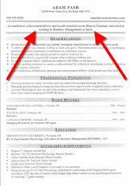 The Best Resumes Examples by Objective Resume Examples Berathen Com