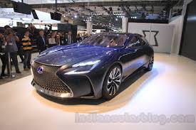 lexus lf fc lexus lf fc concept front quarter at the 2015 tokyo motor show
