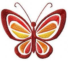 free butterfly design electronics dress