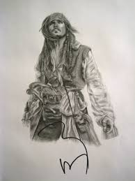 jack sparrow drawing by daphnetails on deviantart