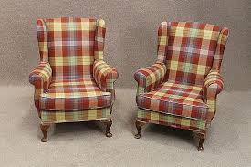 Tartan Armchairs Bespoke Furniture Perfect For A Truly Original Feature In Your Home