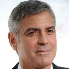 Hairstyles For Guys Growing Their Hair Out by George Clooney Actor Film Actor Television Actor Activist