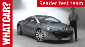 peugeot lease buy back peugeot 308 rcz customer review what car youtube
