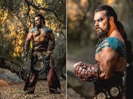 Bodybuilder Halloween Costumes Totally Epic Khal Drogo Halloween Costume Performance Pic