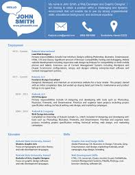 Resume Sample Best by Free Resume Templates Curriculum Vitae Template Best Cv Samples