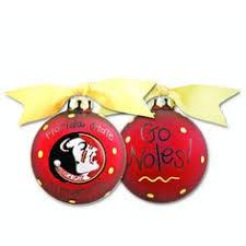 i all of my fsu ornaments from coton colors go noles