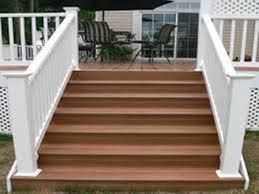 building composite deck stairs u2014 railing stairs and kitchen design