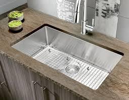 Ambella Home Bathroom Vanities Large Single Kitchen Sink Quatrus R15 Large Single Kitchen Sink