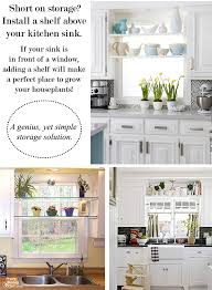 Shelf Above Kitchen Sink by Interiors By Jacquin 6 Unique Ways To Enhance Your Kitchen