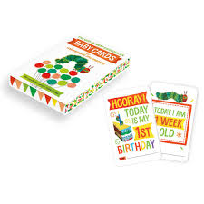 the very hungry caterpillar baby cards for milestone moments the very hungry caterpillar baby cards for milestone moments jojo maman bebe