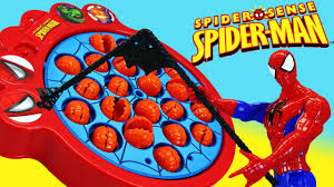 spiderman let u0027s go fishin family fun night kids game spidey vs