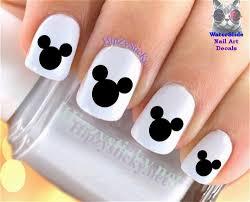 mickey mouse nail art ebay