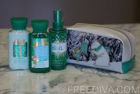 Christmas Bath Gift Set by Vanilla Bean Noel Gift Set Winter Friends Bath U0026 Body Works
