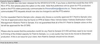 reference guide to pts rennlist porsche discussion forums