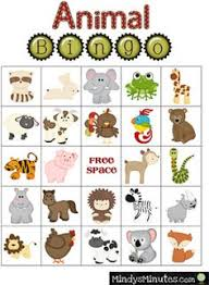 adorable zoo bingo free printable to help your family play get