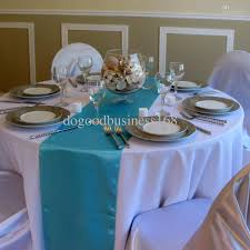 Holiday Table Runners by Turquoise Satin Table Runner Wedding Cloth Runners Holiday Favor