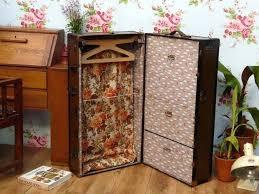 travel trunks images Vintage storage trunk travel wardrobe trunk antique wardrobe jpg