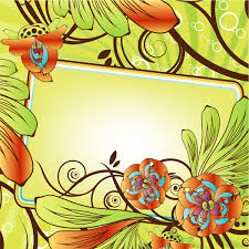Beautiful Flower Decoration Beautiful Flowers Decorative Frame Vector Vector Frames Clip