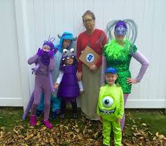 monsters inc group halloween costumes pinterest monsters