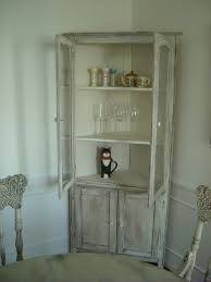 corner china cabinet or corner hutch for the dining room corner