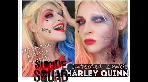 zombie makeup kit spirit halloween harley quinn zombie bite makeup tutorial squad halloween