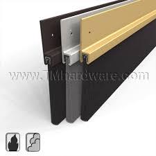 Door Bottom Sweeps For Exterior Doors Brush Door Sweep Pemko 18250nb Seal Large Gaps