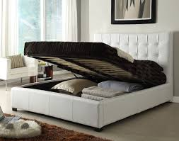 Online Bedroom Set Furniture by Athens Bonded Leather Bed White 805 00 Furniture Store