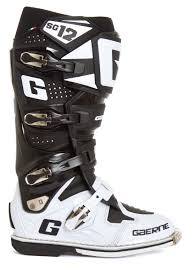 motocross boots gaerne gaerne mx boots sg 12 black white limited edition 2017 maciag