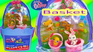 littlest pet shop easter eggs lps basket style bobbleheads easter littlest pet shop dog