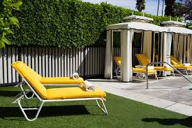 Palm Springs Outdoor Furniture by Avalon Hotel Palm Springs Ca Booking Com