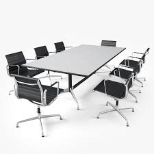 Office Furniture Table Meeting Conference Table 3d Obj