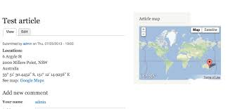 Address Map How To Display Maps Using Gmap Views And Location In Drupal 7